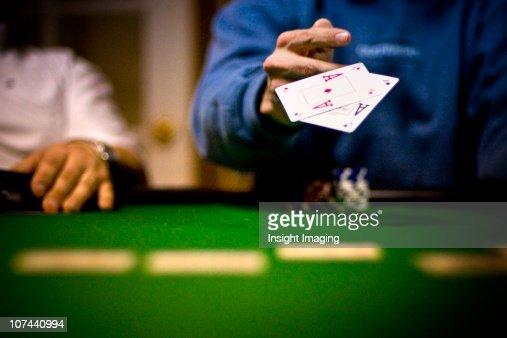 Folding those poker aces