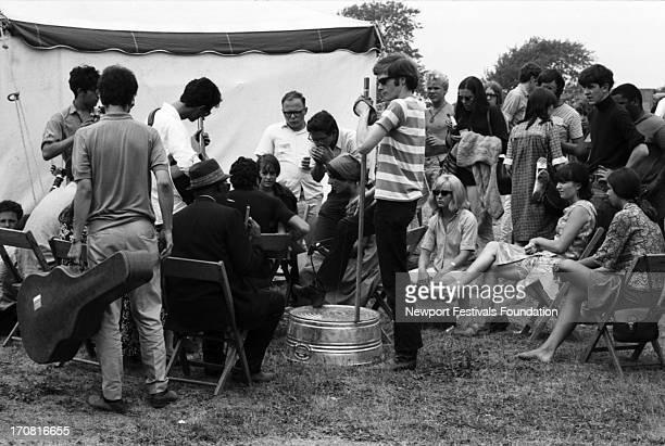 Folk and blues musicians and singers including singer and musican Al Kooper blues musiican and singer Reverand Gary Davis folk singer Mimi Farina and...