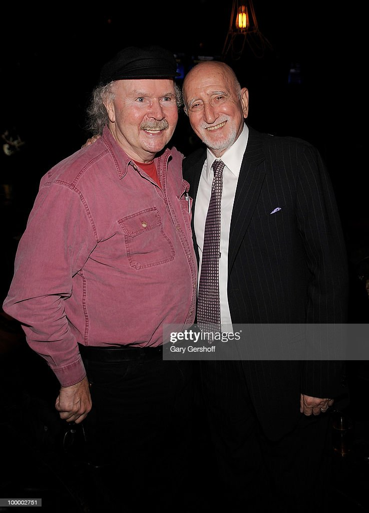 Folk artist Tom Paxton (L) and actor/singer Dominic Chianese attend Cherry Lane Music Publishing's 50th Anniversary celebration at Brooklyn Bowl on May 19, 2010 in the Brooklyn borough of New York City.