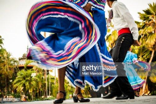 Folk dancing Mexico