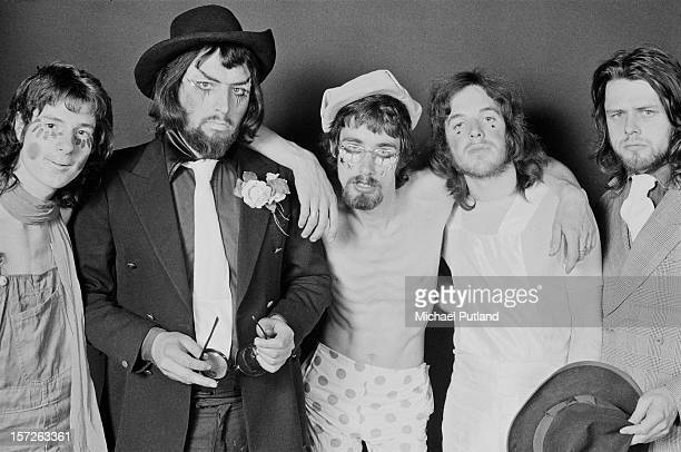 Folk rock band Gnome Sweet Gnome in the studio 12th July 1972