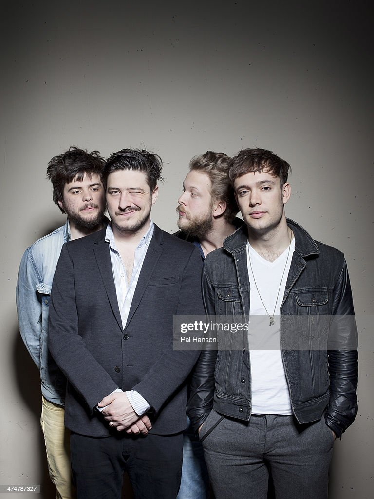 Folk rock band Mumford & Sons are photographed for Time Out on April 11, 2013 in London, England.