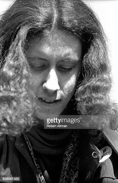 Folk singer Arlo Guthrie joins the 'Free the Presidio 27' Demonstration on March 15 1969 in San Francisco California Presidio mutiny was a sitdown...