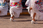 Folklore Dancers in Mexico