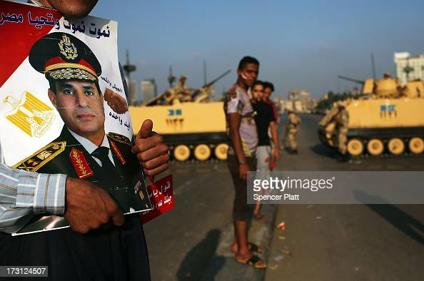 Following a day of massive rallies against the ousted Egyptian President and an early morning shooting of pro Mohamed Morsi supporters outside a...