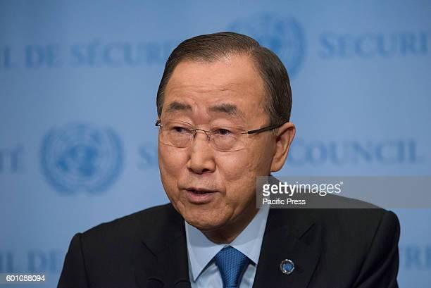 Following the test detonation of a warheadcapacity nuclear device in Punggyeri region of North Korea United Nations SecretaryGeneral Ban Kimoon spoke...