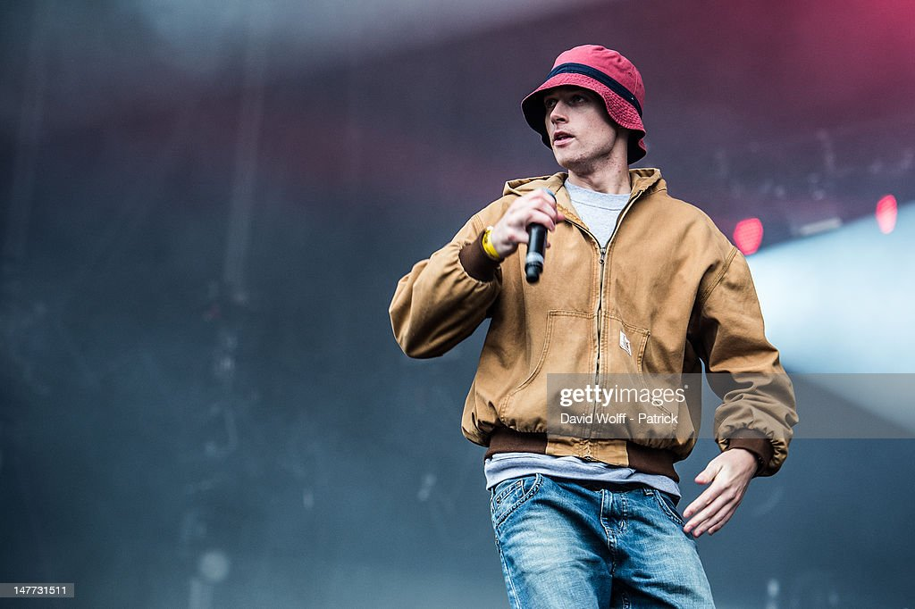 Fonky Flav from 1995 performs at Eurockeennes Music Festival on July 1, 2012 in Belfort, France.