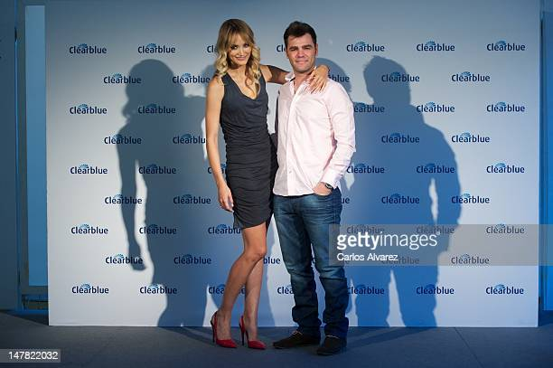 Fonsi Nieto and Alba Carrillo attend 'Que Enciende Tu Pasion' awards at ABC museum on July 4 2012 in Madrid Spain