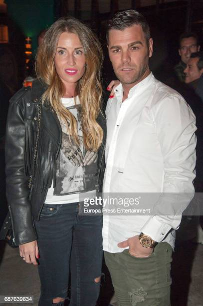 Fonsi Nieto and Marta Castro attend the opening of Tatel Restaurant on April 27 2017 in Ibiza Spain