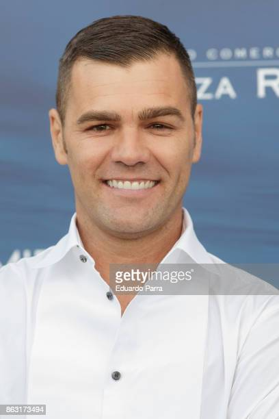Fonsi Nieto attends the 'Plaza Rio 2' presentation at Plaza Rio 2 mall on October 19 2017 in Madrid Spain