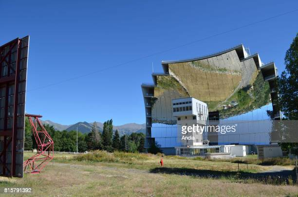 FontRomeuOdeilloVia The Odeillo solar furnace listed as a National Historic Landmark including 63 heliostats started operating in 1970 It has a power...