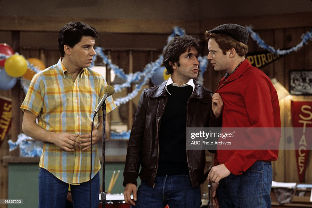 DAYS - 'Fonzie the Superstar' - Season Three - Anson Williams, Henry Winkler, Donny Most