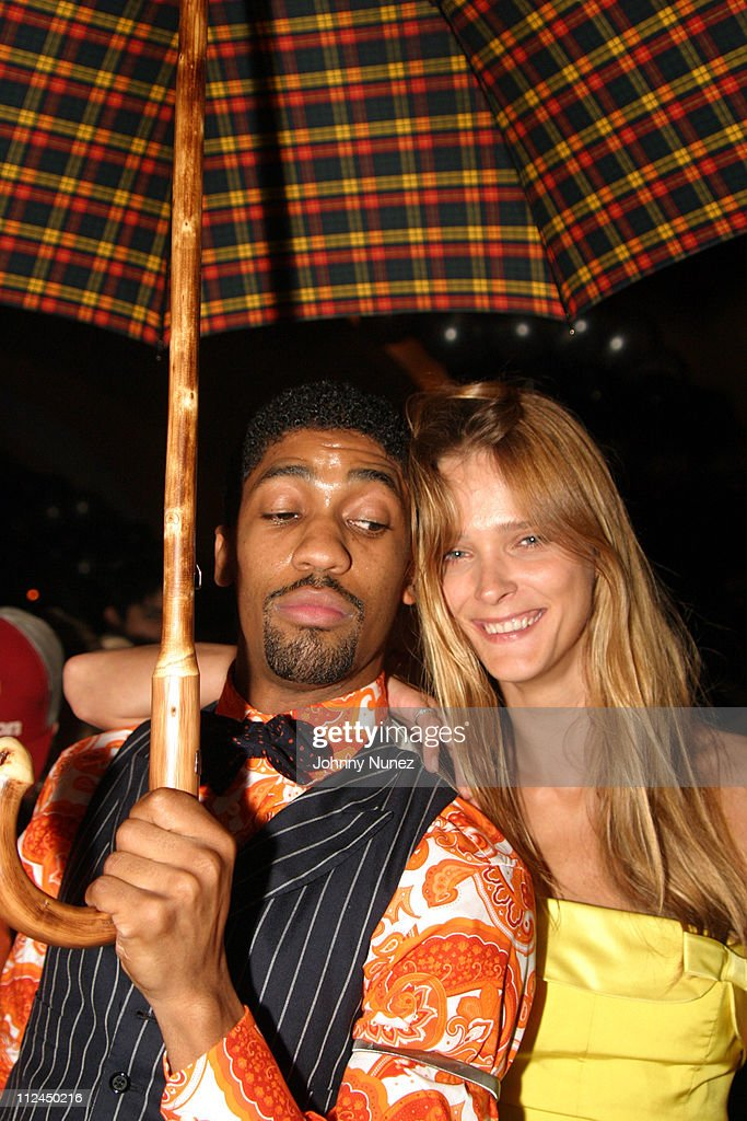 Fonzworth Bentley and Carmen Kass during Butter's Two Year Anniversary at Butter in New York City, New York, United States.