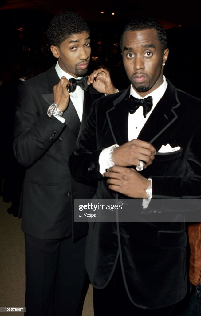 Fonzworth Bentley and Sean 'P. Diddy' Combs during The 77th Annual Academy Awards - Governors Ball at Kodak Theatre in Hollywood, California, United States.