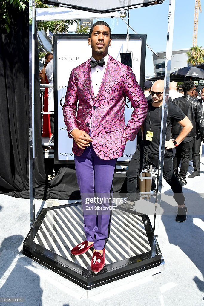Fonzworth Bentley attends the Cover Girl glam stage during the 2016 BET Awards at the Microsoft Theater on June 26, 2016 in Los Angeles, California.