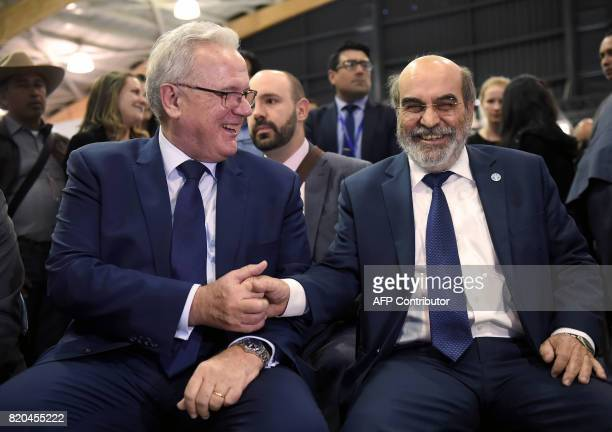 Food and Agriculture Organization general director Jose Graziano da Silva and European Commissioner for International Cooperation and Development...