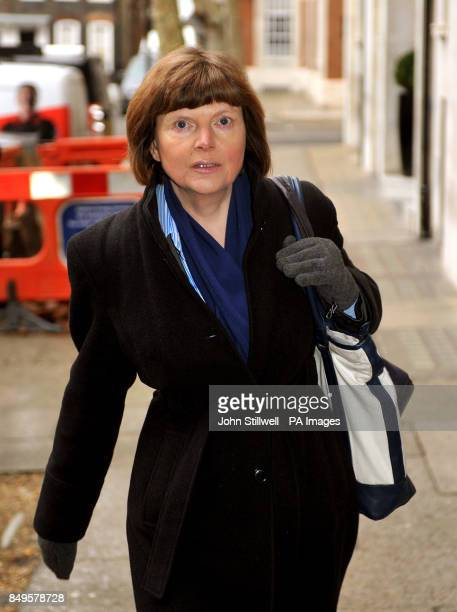 Food and Drink Federation Director General Melanie Leech arriving at an emergency meeting with the Food Standards Agency and retailers at Defra...