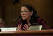 Food and Drug Administration Commissioner Margaret Hamburg testifies during the Senate Appropriations Subcommittee on Agriculture Rural Development...