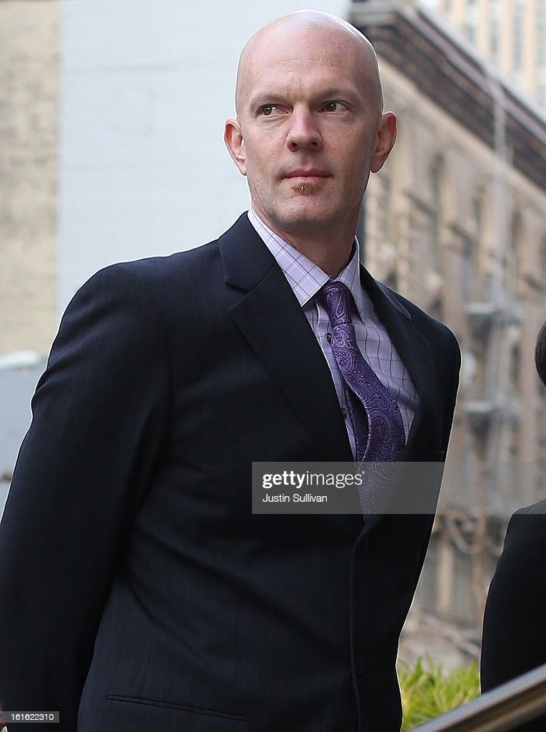 Food and Drug Adminstration agent Jeff Novitzsky arrives at the U.S. Ninth Circuit Court of Appeals on February 13, 2013 in San Francisco, California. Attornies for former MLB player Barry Bonds are in court to appeal his obstruction of justice conviction after he gave evasive testimony in 2003 during a grand jury investigation of BALCO, the Bay Area labs at the center of the steroid scandal.
