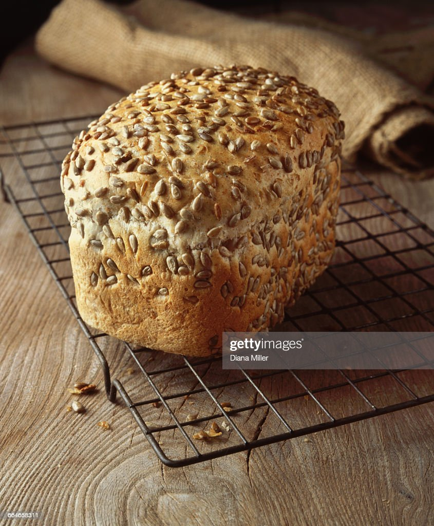 Food, bakery, seeded bread, granary loaf, sunflower seeds