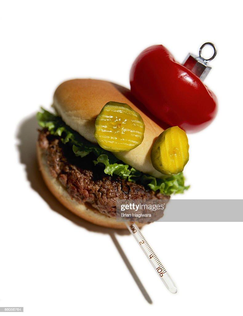 Food borne illness : Stock Photo