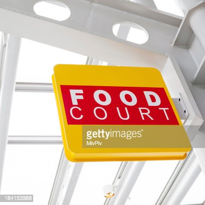Food Court Sign