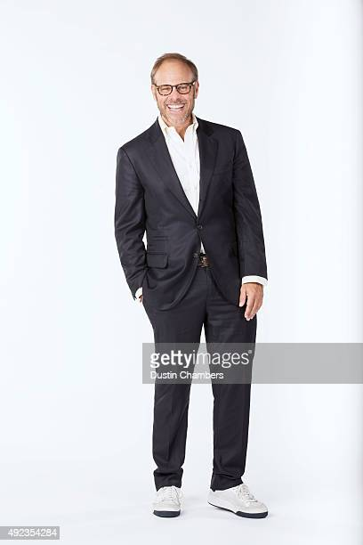 Food critic Alton Brown is photographed for New York Times Magazine on August 20 2015 in Atlanta Georgia PUBLISHED IMAGE