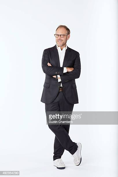 Food critic Alton Brown is photographed for New York Times Magazine on August 20 2015 in Atlanta Georgia