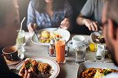 Food Eating Restaurant Community Cafe Concept