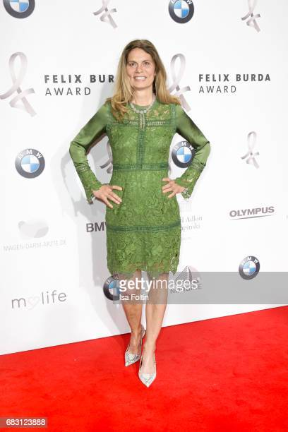Food expert Sarah Wiener attends the Felix Burda Award 2017 at Hotel Adlon on May 14 2017 in Berlin Germany