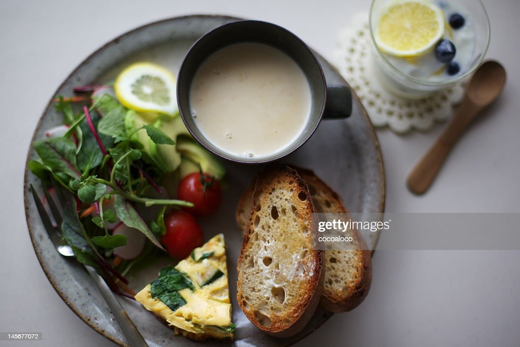 Food for lunch : Stock Photo