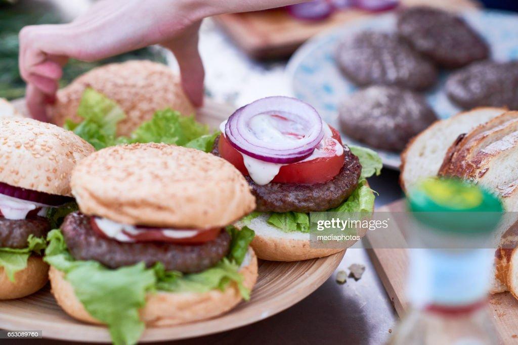 Speisen für Picknick : Stock-Foto