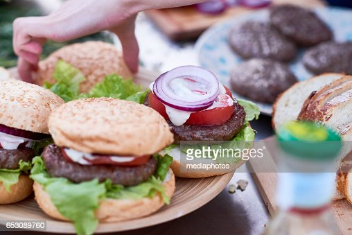 Food for picnic : Stock Photo