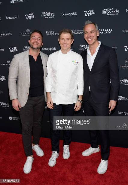 Food Innovation Group Chief Business Officer Craig Kostelic television personality and chef Bobby Flay and Bon Appetit magazine EditorinChief Adam...