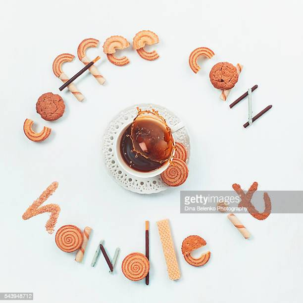 Food lettering: Coffee can handle it