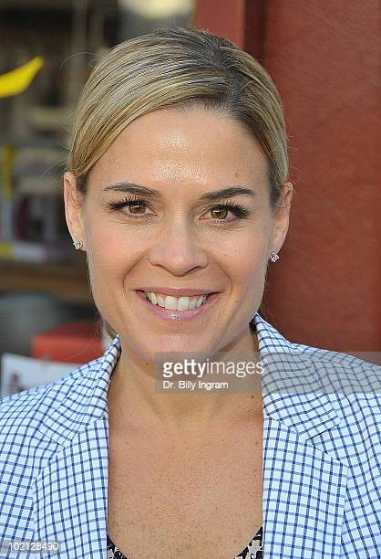 Food Network's Cat Cora signs copies of 'Cat Cora's Classics with a Twist' at Diesel at A Book Store on June 15 2010 in Brentwood California