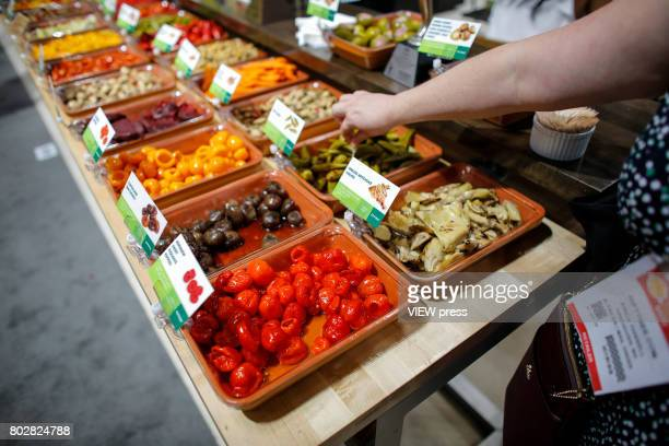 Food Products are displayed at the Annual Summer Fancy Food Show on June 262017 at the Javits Center in New York City