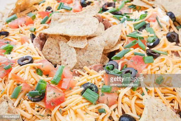 Food Seven Layer Dip