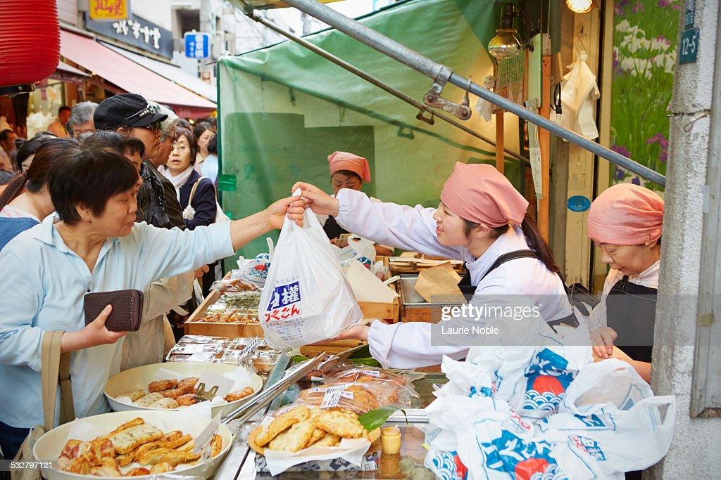 Food stall, Outer Fish Market, Tsukiji