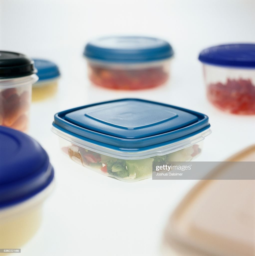 Food storage containers : Stock Photo