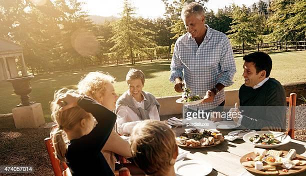 Los gustos más cuando comer con la familia