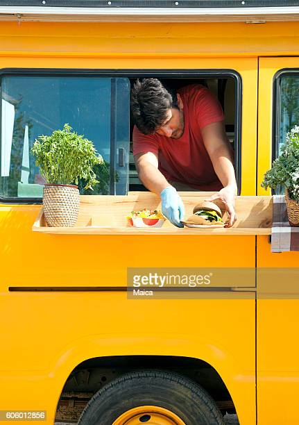 Food truck chef