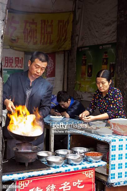 Food Vendor in Pingyao, China