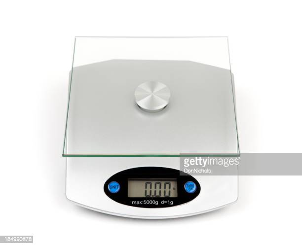 Food Weight Scale Isolated