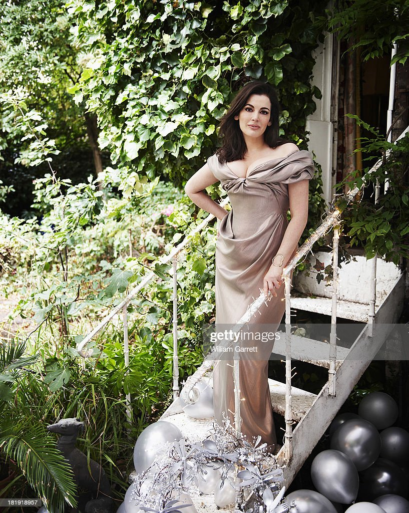 Food Writer And Tv Presenter Nigella Lawson Is Photographed For Red Magazine On July 30