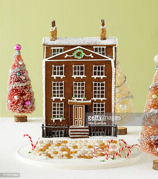 Food-Gingerbread House
