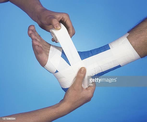Pied une violation de données: Fixation de bandage