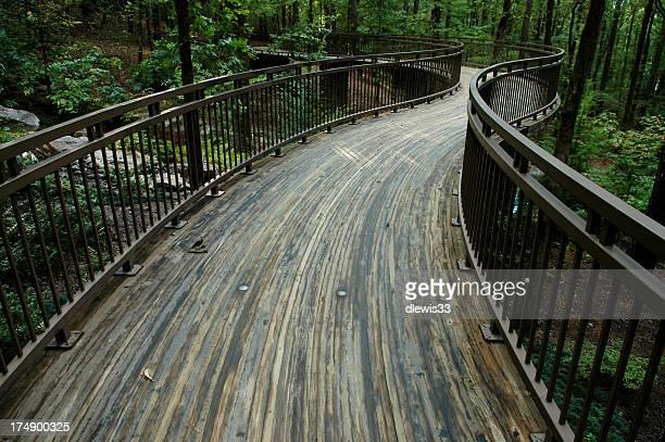 Fuß-Brücke in Woodlands