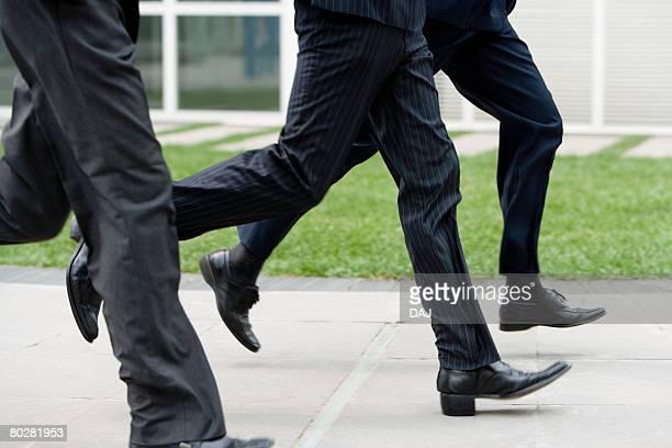 Foot of Businessmen, China, Beijing