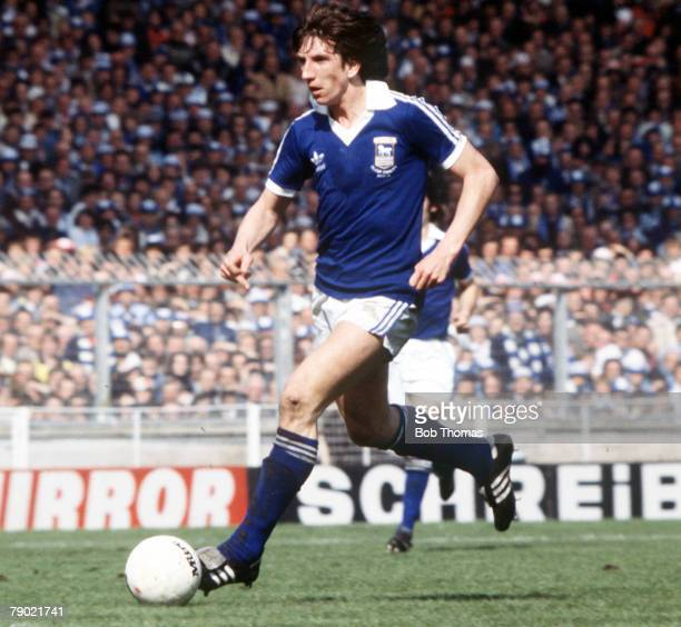 Football 1978 FA Cup Final Wembley Ipswich Town 1 v Arsenal 0 6th May Ipswich Town's Paul Mariner on the ball